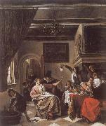 Jan Steen As the Old Sing,So twitter the Young oil painting picture wholesale