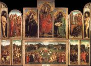 Jan Van Eyck The Ghent altaarstuck oil painting picture wholesale
