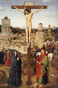 Jan Van Eyck Crucifixion ofChrist oil painting picture wholesale