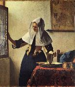 JanVermeer Woman with a Jug oil painting picture wholesale
