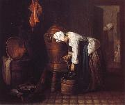 Jean Baptiste Simeon Chardin The Water Urn oil painting picture wholesale