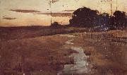 John Longstaff Twilight Landscape oil painting picture wholesale