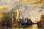 Joseph Mallord William Turner Uysses Deriding Polyphemus oil painting picture wholesale