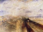 Joseph Mallord William Turner Rain,Steam and Speed The Great Western Railway oil painting picture wholesale