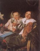 Judith leyster Carousing Couple oil painting picture wholesale