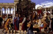 Julius Schnorr von Carolsfeld The Wedding Feast at Cana oil painting picture wholesale