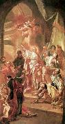 Kracker, Johann Lucas The Dispute between St Catherine of Alexandria and the Philosophers oil painting picture wholesale