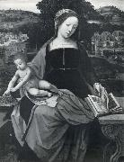 MASTER of Female Half-length The Virgin and child oil painting artist
