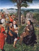 MASTER of Saint Gilles Saint Giles and the Wounded Hind oil painting artist