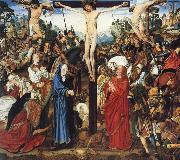 MASTER of the Aix-en-Chapel Altarpiece The crucifixion oil painting artist