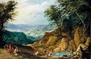 MOMPER, Joos de Extensive Mountainous Landscape oil painting picture wholesale