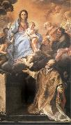Maratta, Carlo The Madonna and its aparicion to San Felipe Neri oil painting picture wholesale