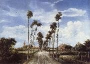 Meindert Hobbema The Avenue at Middelharnis oil painting picture wholesale