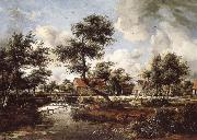 Meindert Hobbema The Watermills at Singraven near Denekamp oil painting picture wholesale
