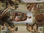 Michelangelo Buonarroti God separates the waters and the country and blesses its work, oil painting picture wholesale