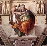 Michelangelo Buonarroti The Delphic Sibyl oil painting picture wholesale
