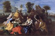 Nicolas Poussin The Finding of Moses oil painting picture wholesale