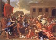 Nicolas Poussin The Abduction of the Sabine Women oil painting picture wholesale