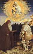 PISANELLO The Virgin and Child with Saint Anthony Abbot oil painting picture wholesale