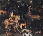 PISANELLO The Vision of Saint Eustace oil painting picture wholesale