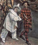 Paul Cezanne Pierrot and Harlequin oil painting picture wholesale