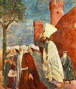 Piero della Francesca Exaltation of the Cross-inhabitants of Jerusalem oil painting picture wholesale