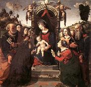 Piero di Cosimo Mystical Marriage of St Catherine of Alexandria oil painting picture wholesale