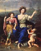Pierre Mignard THe Marquise de Seignelay and Two of her Children oil painting picture wholesale