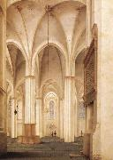 Pieter Jansz Saenredam The Buurkerk at Utrecht oil painting picture wholesale