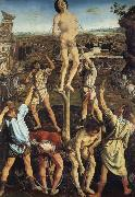 Pollaiuolo, Piero The Martydom of Saint Sebastian oil painting picture wholesale