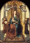 Quentin Massys The Virgin and Child Enthroned,with four Angels oil painting