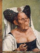 Quentin Massys Portrait of a Grotesque Old Woman oil painting