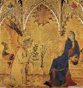 Simone Martini Annuciation oil painting picture wholesale