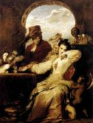 Sir David Wilkie Josephine and the Fortune-Teller oil painting picture wholesale