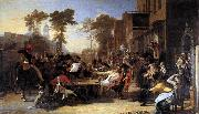 Sir David Wilkie Chelsea Pensioners Reading the Waterloo Dispatch oil painting picture wholesale