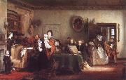 Sir David Wilkie Reading the Will oil painting picture wholesale