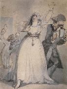 Thomas Rowlandson Mrs.Siddons,Old Kemble,and Henderson,Rehearsing in the Green Room oil painting picture wholesale