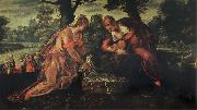 Tintoretto The Finding of Moses oil painting picture wholesale