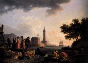 VERNET, Claude-Joseph A Seashore oil painting picture wholesale