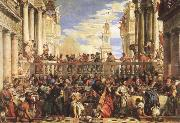VERONESE (Paolo Caliari) The Wedding Feast at Cana oil painting picture wholesale