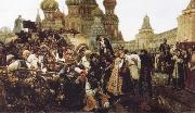 Vasily Surikov The Morning of the Execution of the Streltsy oil painting picture wholesale
