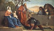 Vincenzo Catena A Muslim Warrior Adoring the Infant Christ and the Virgin oil painting artist