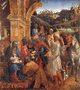 Vincenzo Foppa The Adoration of the Kings oil painting artist