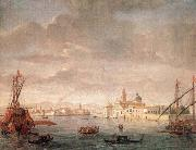 WITTEL, Caspar Andriaans van The Island of San Michele, Looking toward Murano oil painting picture wholesale