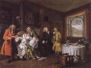William Hogarth Marriage a la mode VI The Lady-s Death oil painting picture wholesale