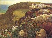 William Holman Hunt Our English Coasts oil painting picture wholesale