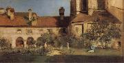 William Merritt Chase The Cloisters oil painting picture wholesale