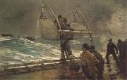 Winslow Homer Das Notsignal oil painting picture wholesale