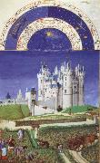 unknow artist Brothers Van Limburg September, page from the Tres riched heures du duc the Berry oil painting picture wholesale
