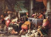 BASSANO, Leandro The poor Lazarus and the rich Prasser oil